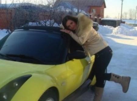 Маргарита Агибалова, предпочитает часто менять машины