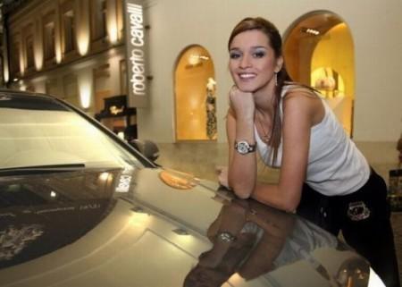 Ксения Бородина ездит Volvo s-40