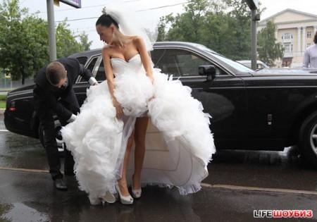 Свадьба Евгении Феофилактовой и Антона Гусева. Фото + видео.