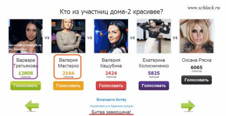 Варвара Третьякова признана телезрителями самой красивой девушкой на Дом 2!