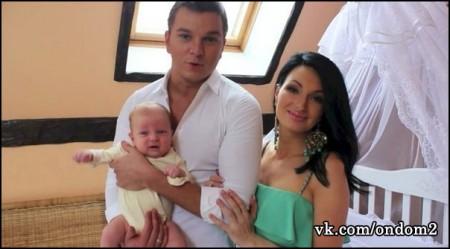 Даниэль Гусев. Первое видео малыша.