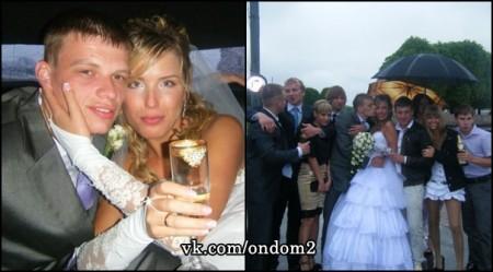 Оксану Ряска избивал бывший муж. Фото.