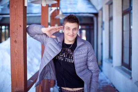 Юра Слободян в группе Токаревой