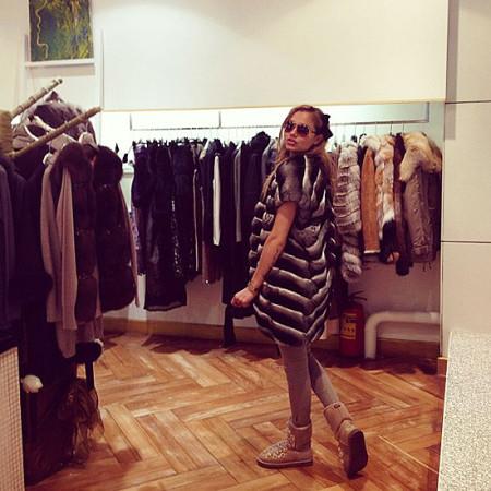 Марта Соболевская в своем магазине