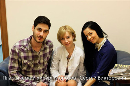 Юлия Салибекова у пластического хирурга