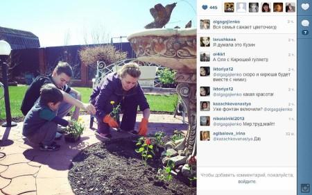Инстаграм семьи Гажиенко