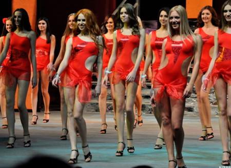 Новенькая Дарья в конкурсе Мисс Красноярск 2011