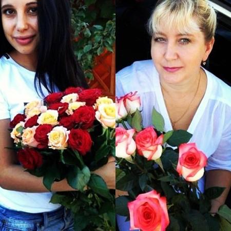 Варвара Третьякова: Тётя Галя (мама) красивая блин ))