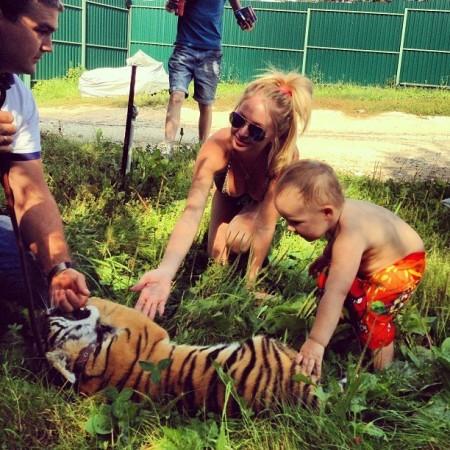 Участники дом 2 с тигренком