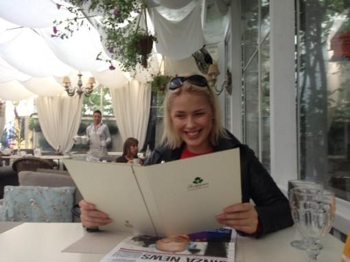 Оксана Ряска - Рабочая поездка,а также отдых в Москве