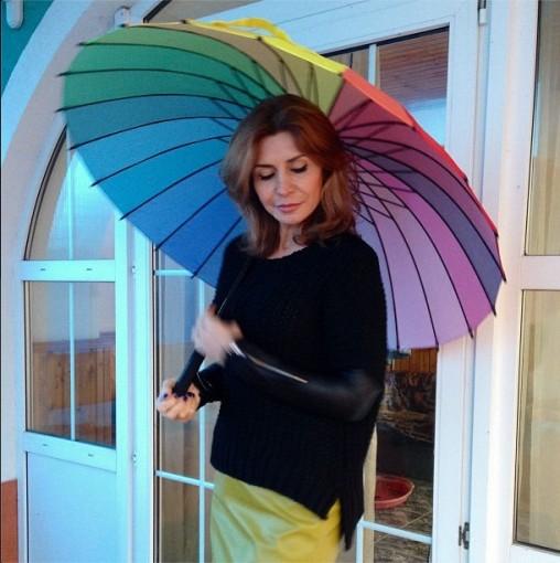 ИА купила зонтик
