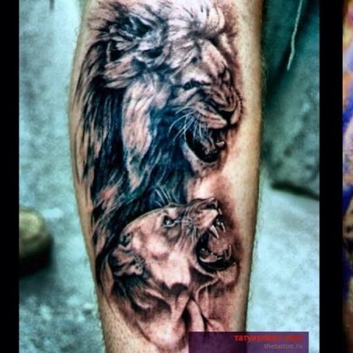 Будущая татуировка Алексея Самсонова