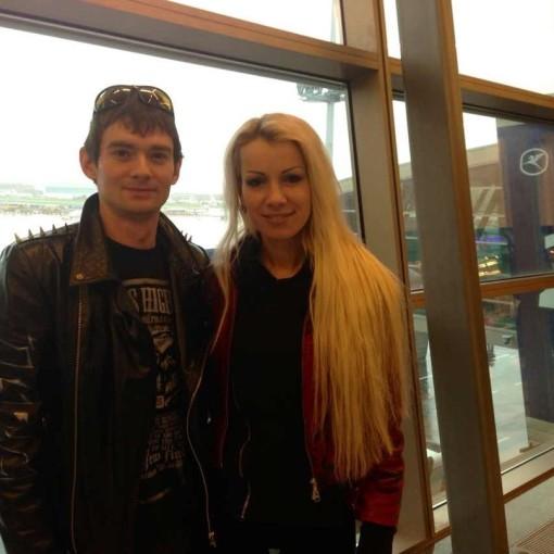 Венцеслав и Катя Король после проекта