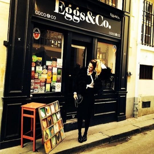 Алена Водонаева: Солнышко в Париже с самого утра