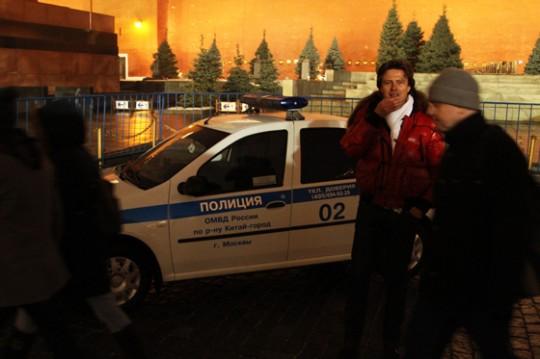 Прохора Шаляпина могли арестовать на Красной Площади.
