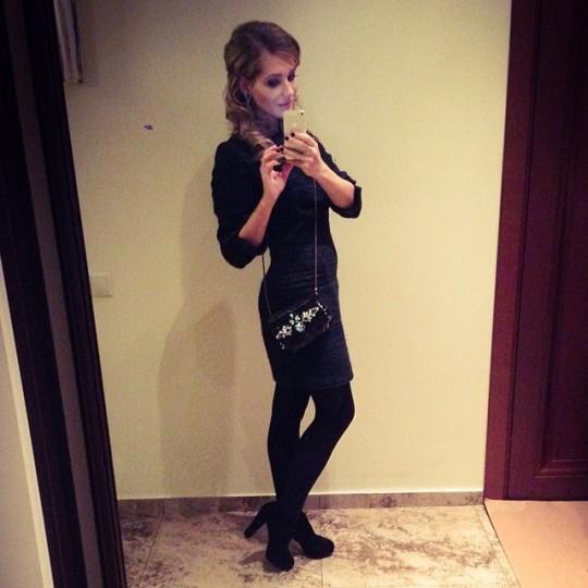 Кристина Асмус в прекрасной форме.
