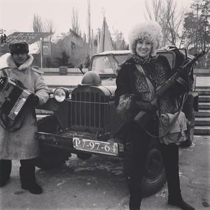 Шаляпин и Копенкина поздравили мужчин с их заслуженным праздником.