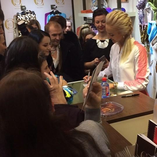 Ольга Бузова открыла новый магазин во Владивостоке.
