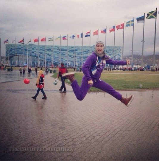 Сочи 2014 сегодня. Ольга Солнце отправилась на олимпиаду