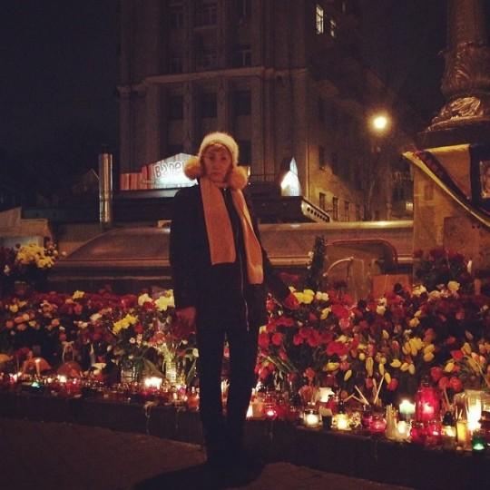 Прохор Шаляпин и Лариса Копенкина побывали на Майдане.