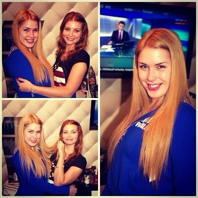 Оксана Ряска. Свежие фото бывшей участницы дом 2 (23.03.14)