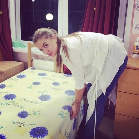 Анна Кручинина. Лизкина сестра Наташа обустраивается