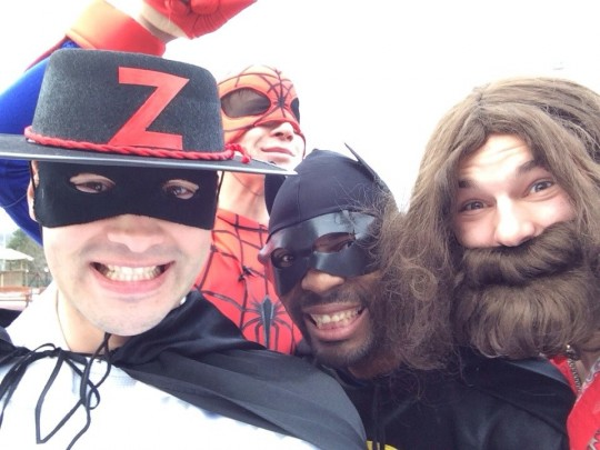 Супергерои на доме 2. Скоро в эфире.