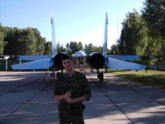 Сергей Сичкар в армии