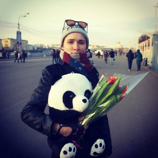 Ольга Солнце. Свежие фото бывшей участницы дом 2 (12.03.14)