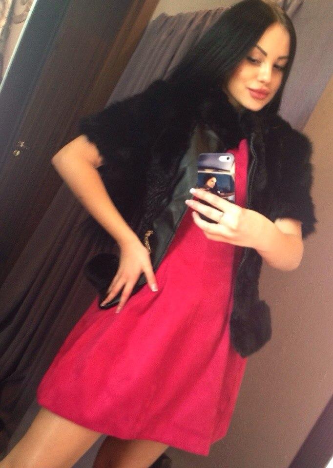 охулкова в красном платье фото сидели потом