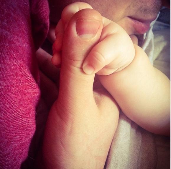 Кристина Асмус показала поклонникам фото своего ребенка