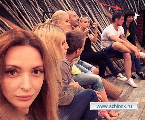 Новая девушка Саши Задойнова попала в кадр