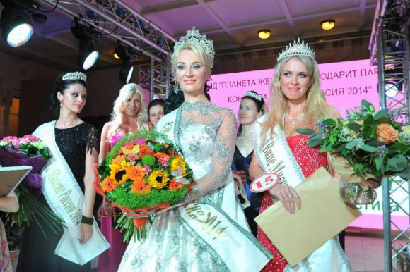 Многодетная мать стала «Миссис Россия-2014»