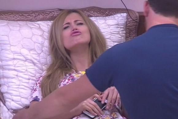 Валерий грозиться сломать нос своей девушке из-за Богдана Ленчука