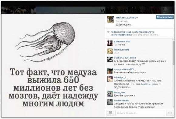 Рустам Калганов в инстаграм 13.08.14. Хомяк рядом Пашка