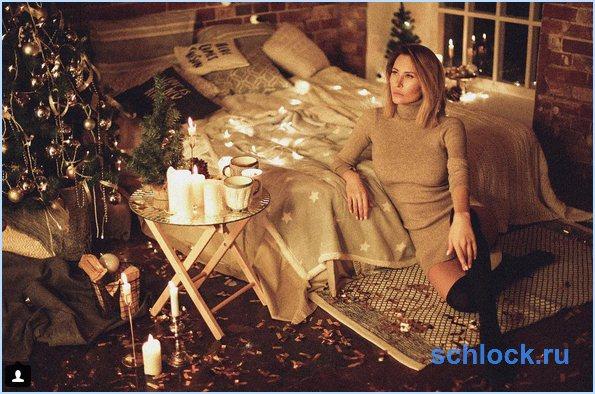 Новое видение снегурочки для Санта-Клауса от Элины Камирен