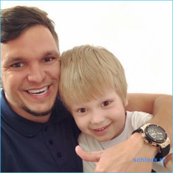 Антон Гусев усомнился в отцовстве?
