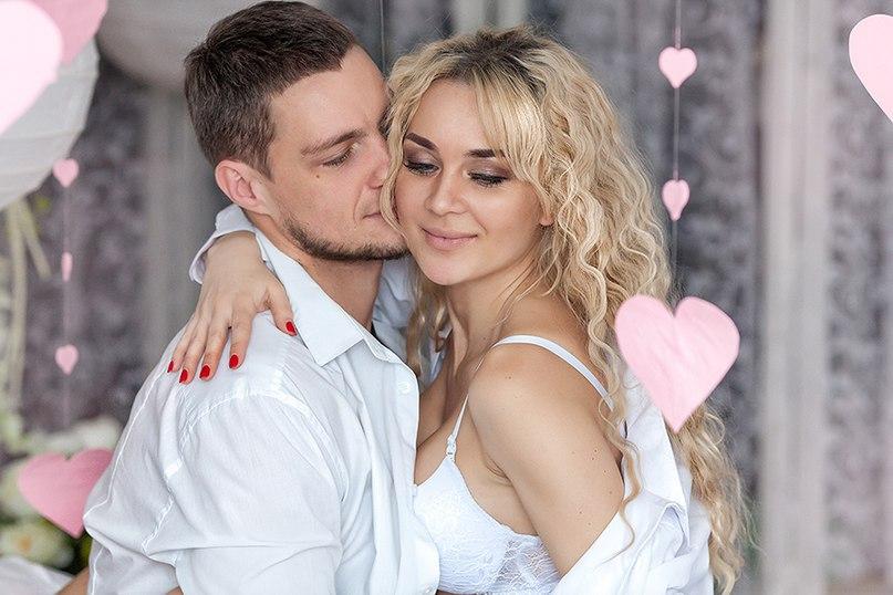 Нежная фотосессия Задойнова и его невесты