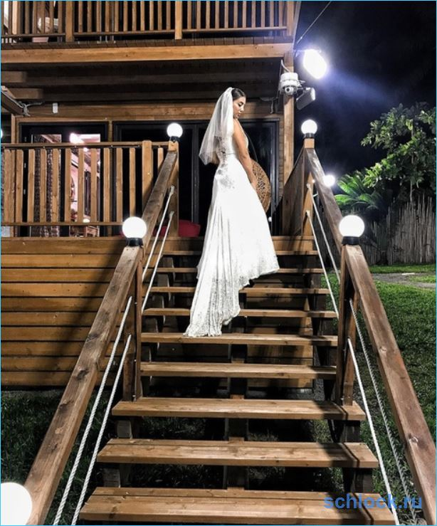 Богдана Николенко во всем винит свадебное платье