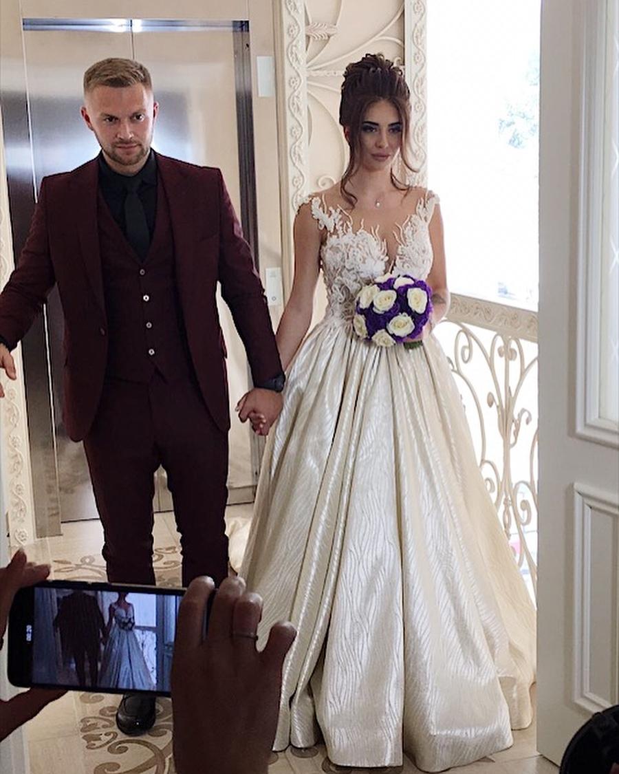 Свадьба Татьяны Мусульбес и Виктора Литвинова