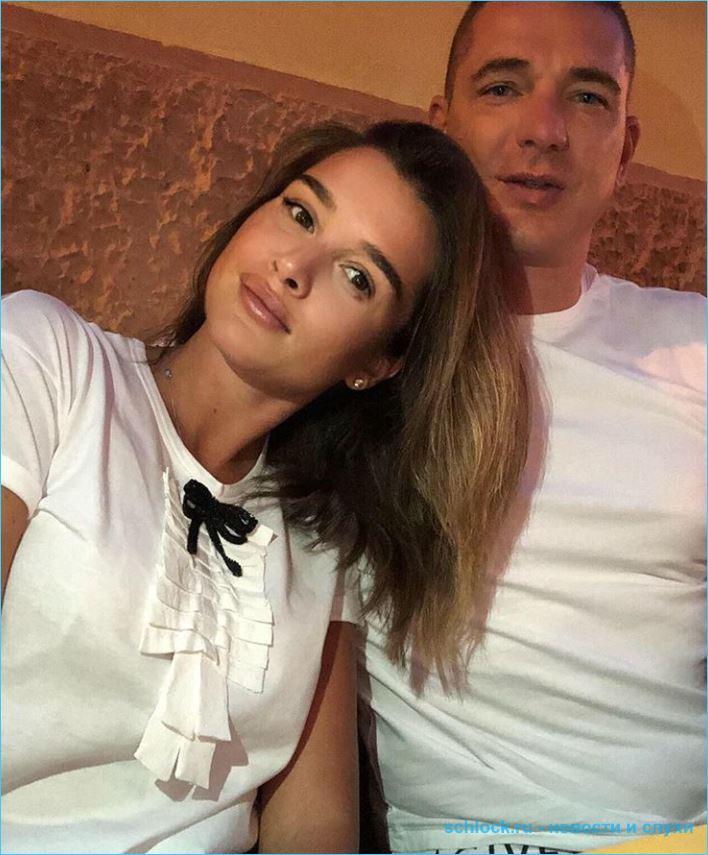 Ксения Бородина с семьей на отдыхе в Италии
