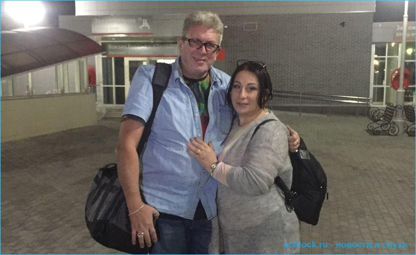Марина Тристановна с женихом устроили разборки в прямом эфире