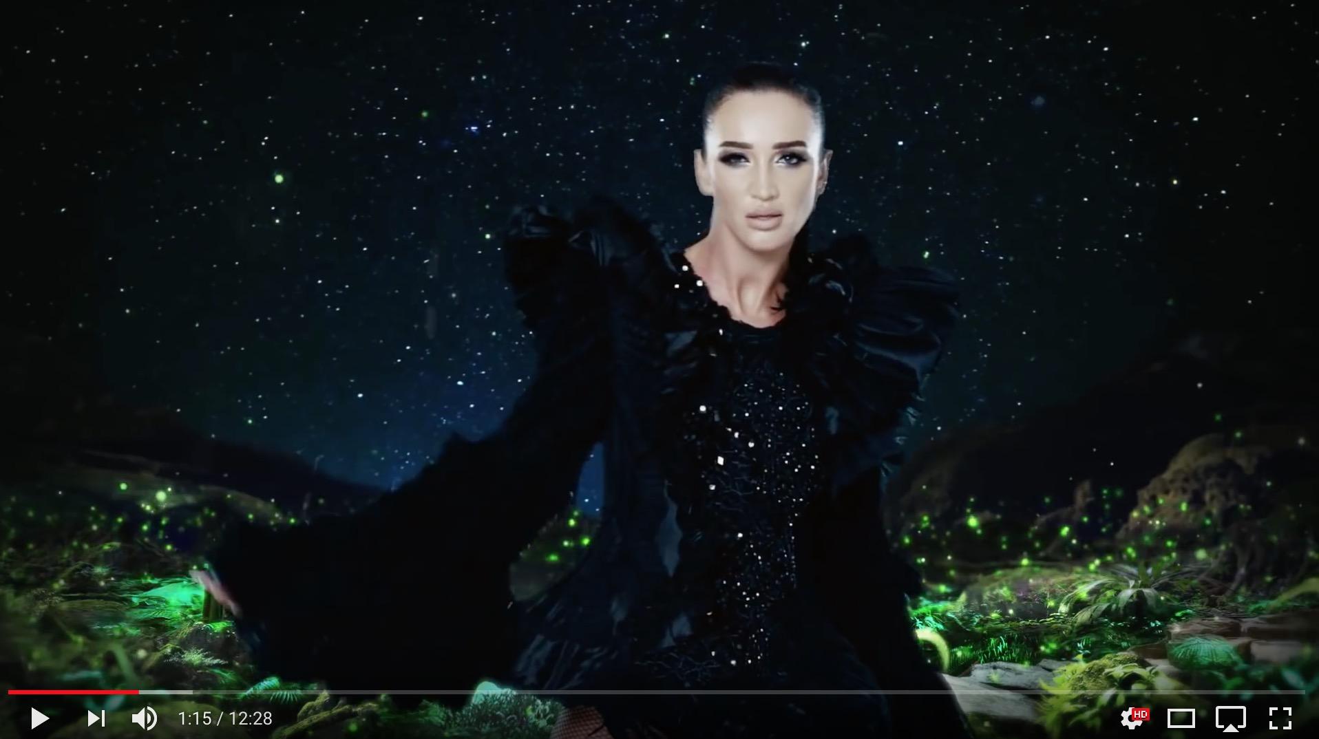 Ольга Бузова из шариков и новый хит
