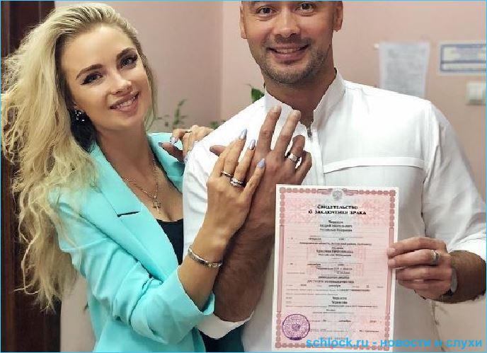 Андрей Черкасов и Кристина Ослина стали мужем и женой!
