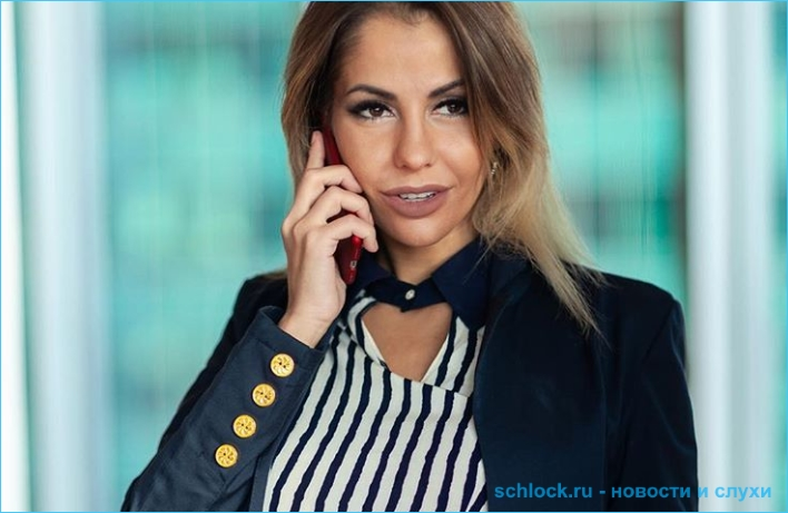 Беременная от Серова Елена Беркова спасается бегством!
