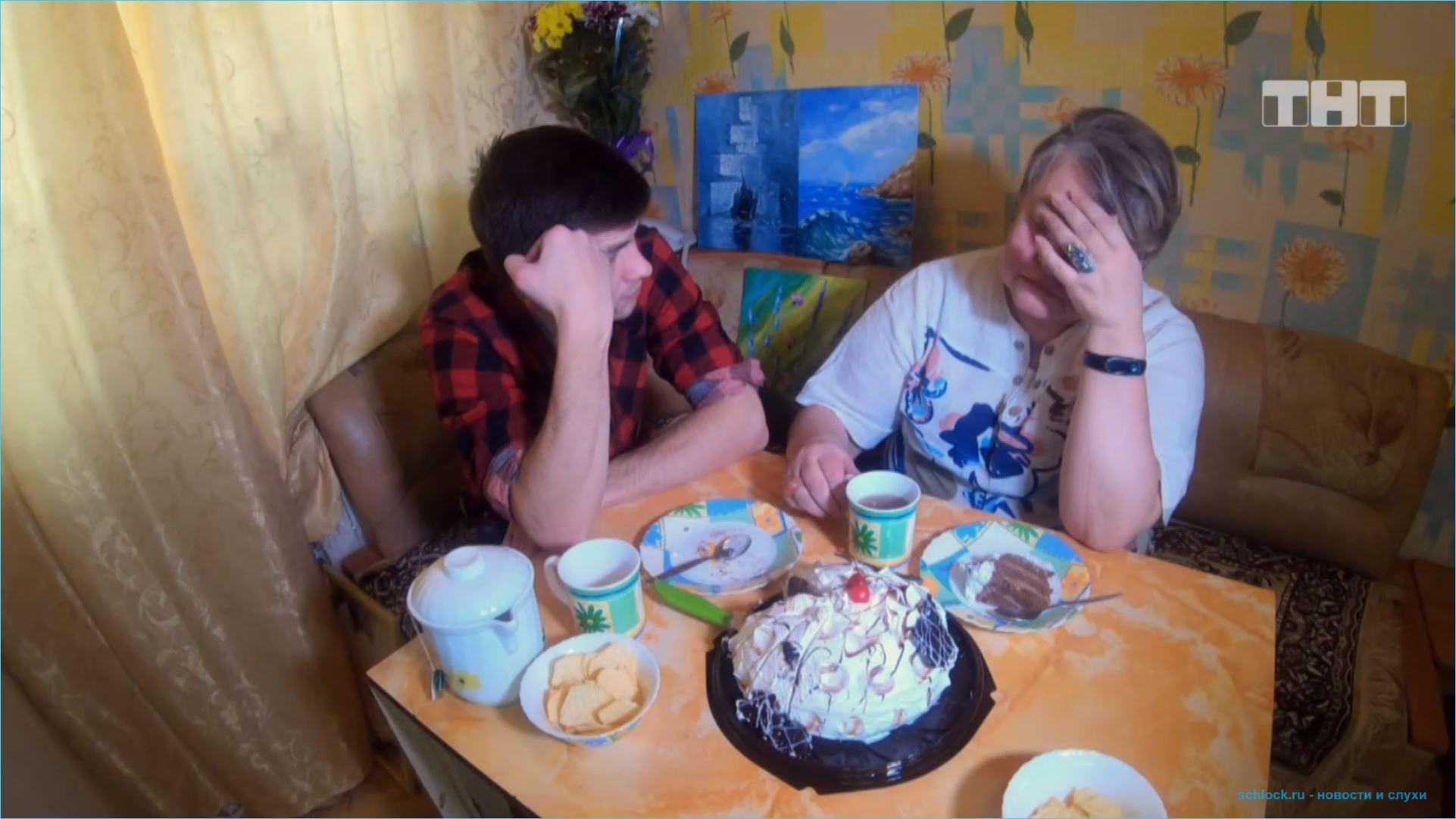 Дмитренко познакомил зрителей со своей мамой
