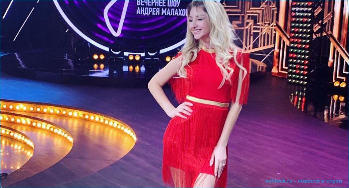 Марго Овсянникова покоряет телевидение
