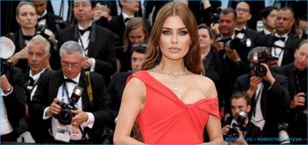 Виктория Боня выбрала скромное и элегантное платье для фестиваля в Каннах