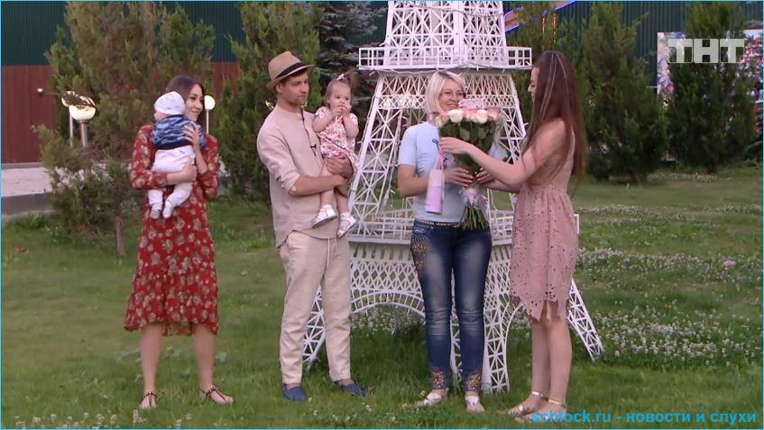 Рапунцели в эфире поздравили телебабушку с днем рождения