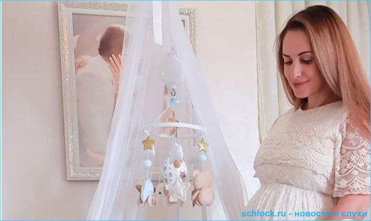 Ольга Гажиенко родила второго сына